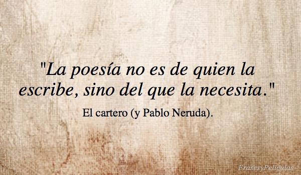 Imagen La Poesía No Es De Quien La